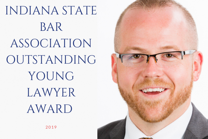 Indiana State Bar Association's Outstanding Young Lawyer of 2019